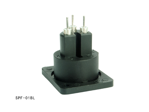 Xlr panel mount connector SPF-01BL